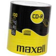 Maxell CD-R 52x lemez, Shrink (100)