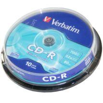 Verbatim CD-R lemez, cake (10)