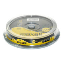 Maxell CD-R 52x lemez, cake (10)