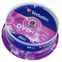 Verbatim DVD+R 16x lemez, cake (25)