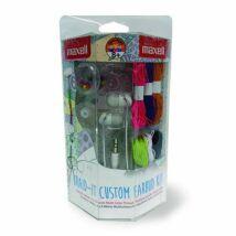 MAXELL DIY BRAID IT KIT színes fülhallgató készlet