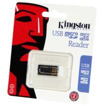 Kártya olvaso microSD-USB Kingston miniatűr