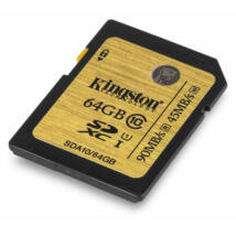 64GB SDXC memóriakártya Kingston Ultimate UHS-I Class 10