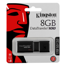 8 GB pendrive Kingston USB 3.0 DataTraveler 100 G3