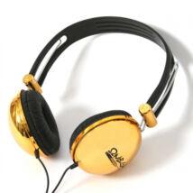 Freestyle FH0012BG stereo fülhallgató fekete/arany