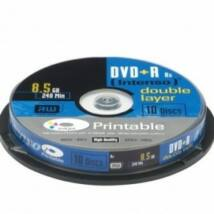 INTENSO DVD+DL 8,5GB PRINT CAKE 10