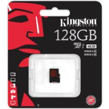 128GB MICROSDXC KINGSTON UHS-I CLASS U3
