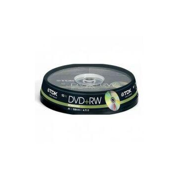 TDK DVD+RW 4,7GB 4X cake 10