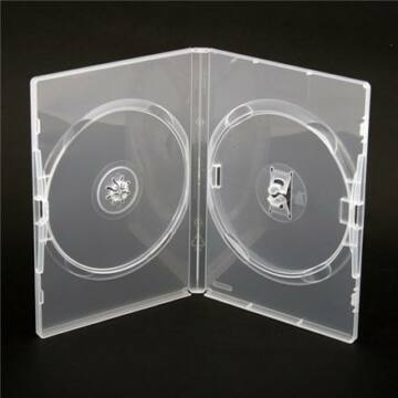 Amaray Dvd Tok Dupla 14mm Clear