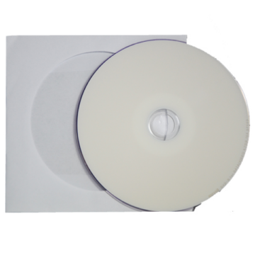 Maxell DVD-R 16x teljes felületén nyomtatható lemez, papírtokos (10)
