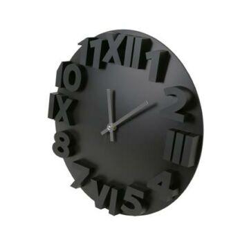 Platinet Zegar Modern falióra, fekete 42985