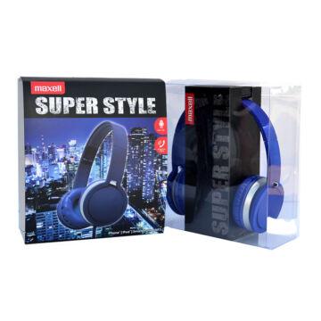 Maxell Fejhallgató MXH-HP201 Kék