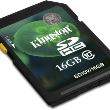 16GB Secure Digital SDHC Kingston - class 10