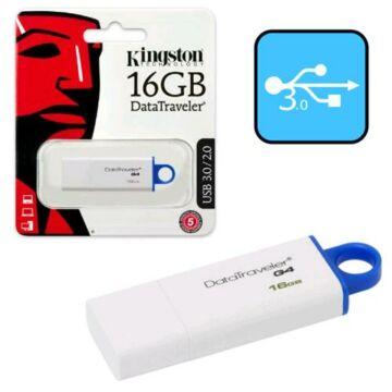 16 GB pendrive Kingston USB 3.0 DataTraveler G4 Kék