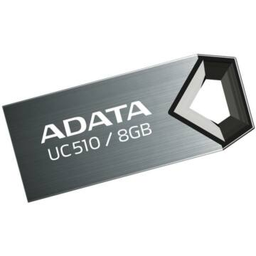 ADATA USB UC510 8GB TITANIUM (USB 2.0)