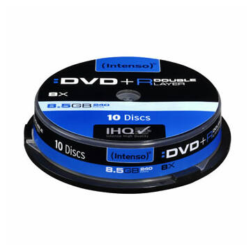 INTENSO DVD+DL 8,5GB CAKE 10