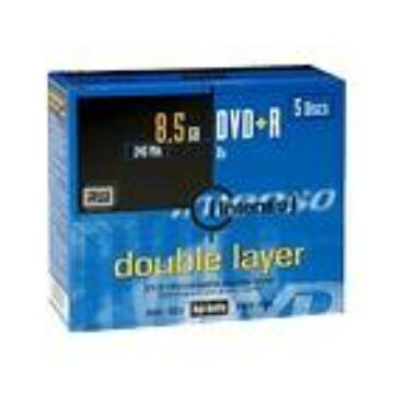 INTENSO DVD+DL 8,5GB JEWEL CASE 5PK