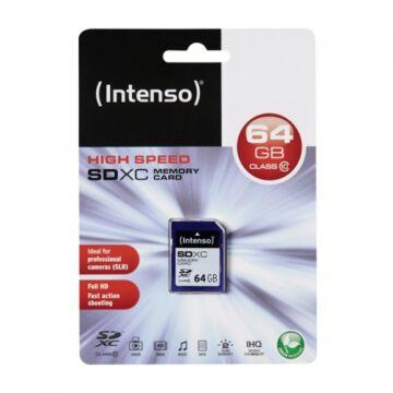 INTENSO SDXC 64GB CLASS 10