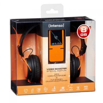 INTENSO VIDEO SCOOTER 8 GB+ HEADPHONE ORANGE