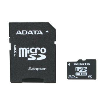 ADATA 32GB MICROSDHC CARD WITH ADAPTER CLASS 4
