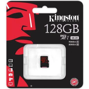 128GB MICROSDXC KINGSTON UHS-I CLASS U3