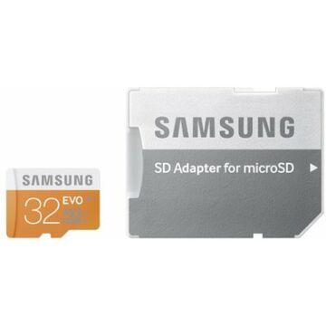 Samsung micro SDHC 32GB Class 10 UHS-I Evo adapterrel