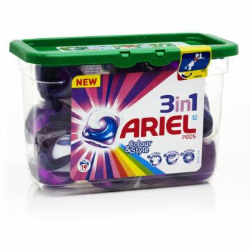 Ariel  Color and Style mosókapszula 12
