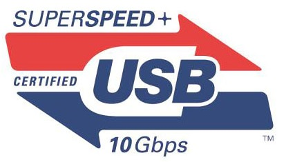 USB 3.1 logo superspeed plus